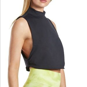 Free People Cropped Tank High Neck Bright Lights